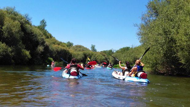 Piraguas rio Tietar
